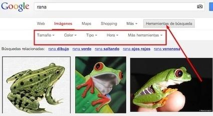 Afinando tus búsquedas de imágenes en Google |  Educa con TIC | Las TIC y la Educación | Scoop.it