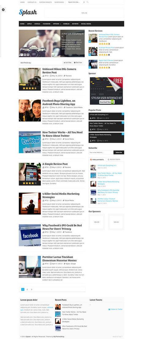 10+ Best Magazine WordPress Themes 2013 | Best WordPress Themes | Scoop.it