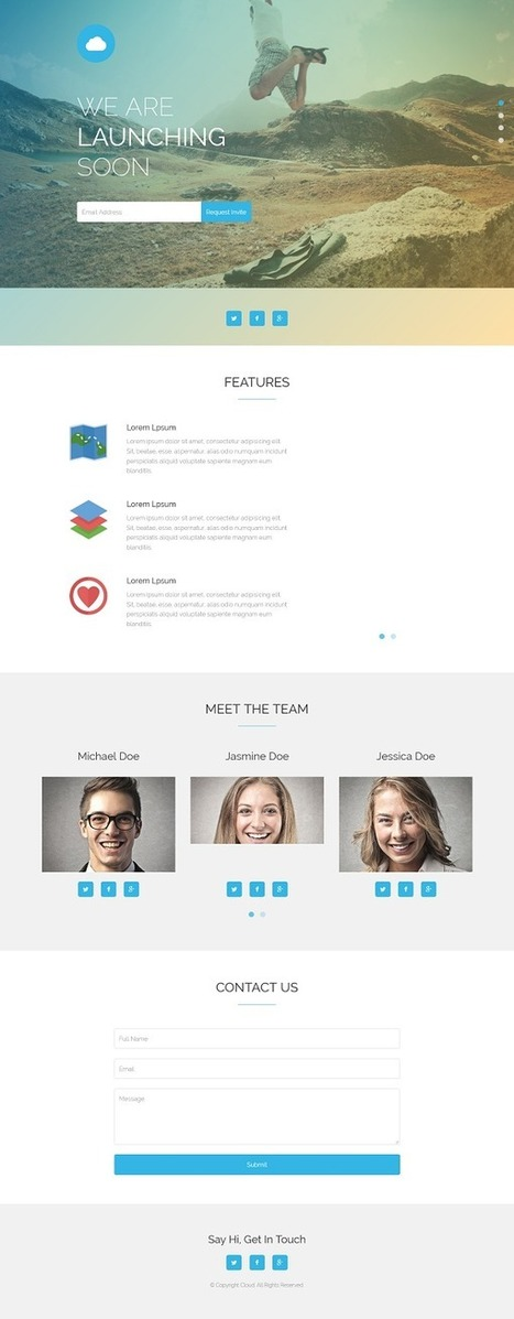 Top 15 Newest Best And Free Mobile App HTML Templates | Webtechelp | Scoop.it