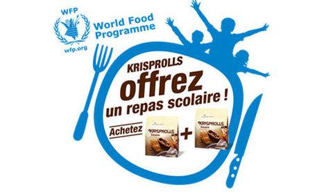 Krisprolls apporte son soutien au World Food Programme | Gastronomie et plaisirs gourmands | Scoop.it