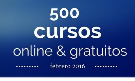 500 cursos universitarios, online y  gratuitos que inician en febrero | Diseño Disseny | Scoop.it