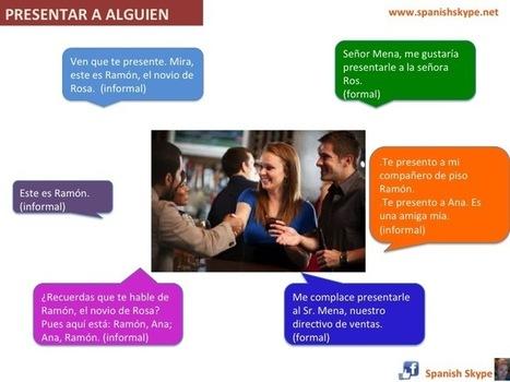 SpanishSkype | Presentar a alguien en español | CC - RECURSOS | Scoop.it