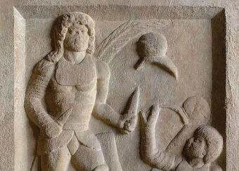 La tumba del gladiador traicionado | Ave Caesar, morituri te salutant! | Scoop.it