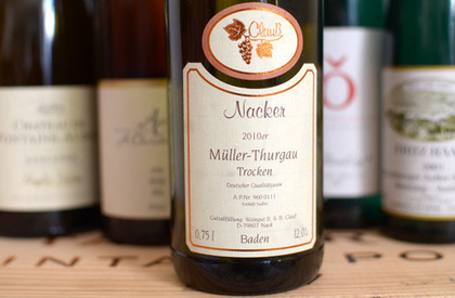 Clauß Nacker Müller Thurgau 2010 | Weinrallye | Scoop.it