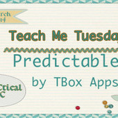 Teach Me Tuesday: Predictable by TBox Apps | AAC Apps | Scoop.it