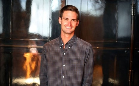 Snapchat's Evan Spiegel: 'Deleting should be the default' - Telegraph | Mobile & Technology | Scoop.it