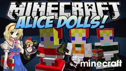 Touhou Alice's Doll Mod 1.6.2   Minecraft 1.6.2 Mods   Scoop.it