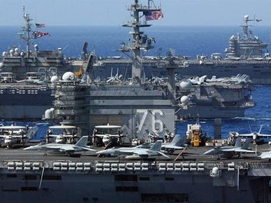U.S Navy May Run Out of Aircraft Carriers | Global politics | Scoop.it
