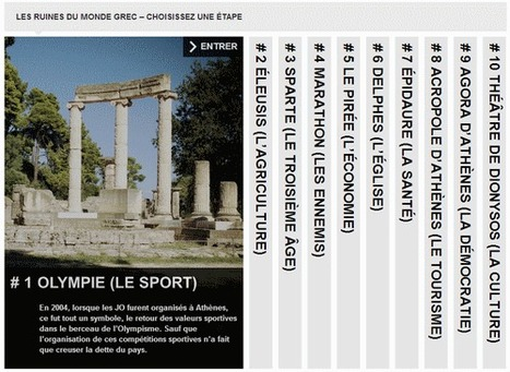 Les ruines du monde grec | Le Monde.fr | L'actualité du webdocumentaire | Scoop.it