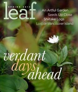 Ooh la la! Leaf Magazine | Dirt Du Jour | Annie Haven | Haven Brand | Scoop.it