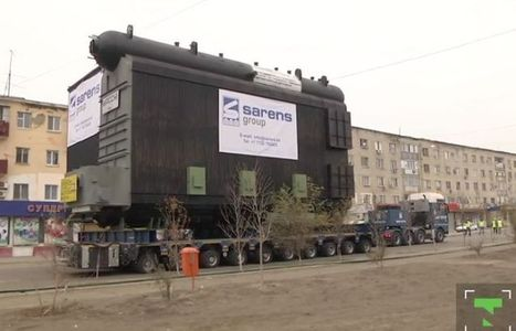 Sarens moves biggest ever cargo in Kazakhstan (videos) | Transportation & Engines | Scoop.it