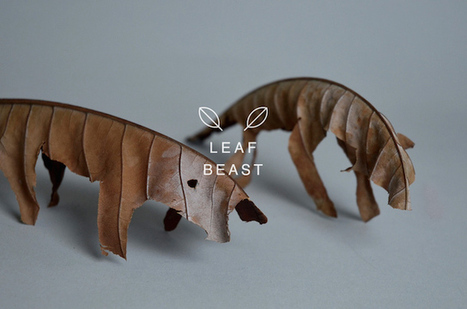 Leaf Beasts #Sculptures | What makes Japan unique | Scoop.it