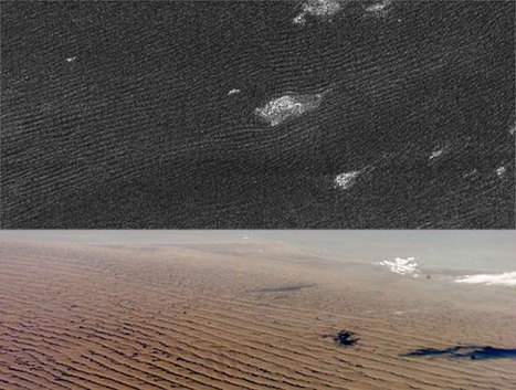 Large Wastelands of Sand Dunes at Equatorial Region of Saturn's Moon Titan | Amazing Science | Scoop.it