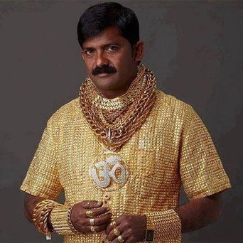 Gold-Obsessed Man Shows Off Solid Gold Shirt, Takes Pimping to a Whole New Level | Strange days indeed... | Scoop.it