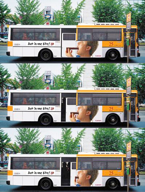 Creative Bus Advertisements | Creative Criminals | ADvertising | Scoop.it