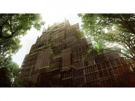 Jean Nouvel plante une tour-arbre au Brésil | Architectes | Scoop.it
