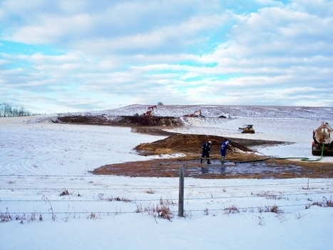 Regulators say hydraulic fracturing may have caused oil spill on farm near Innisfail | Offset Frac Monitoring | Scoop.it