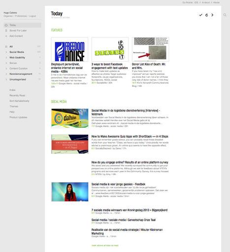 Nieuws lezen met Feedly - workshops - Clickx   Social Media & sociaal-cultureel werk   Scoop.it