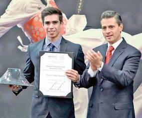 Daniel Corral y Óscar Aguirre en la élite deportiva