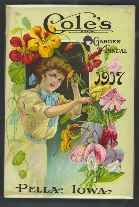 Vintage advertising art | Gardening Life | Scoop.it