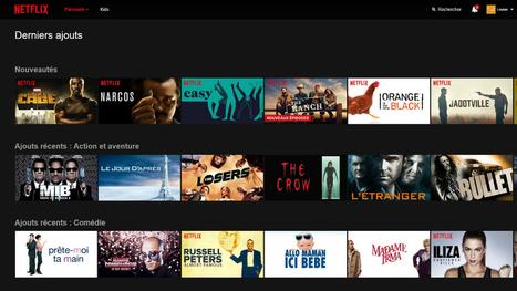 Le catalogue de Netflix est-il en train de fondre? | BiblioLivre | Scoop.it