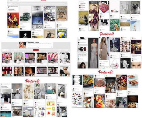 Pinterest : exemples de réussites - Pinterest Marketing & Réseaux Sociaux   Social   Scoop.it