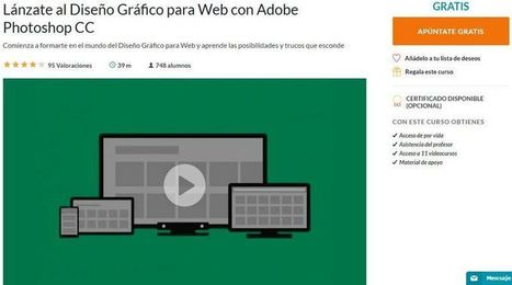 Curso gratuito de diseño gráfico para la web con Photoshop CC   Educativas   Scoop.it
