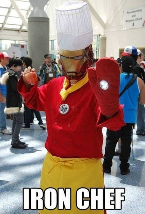 Meet the Real Iron Chef [Cosplay] | Geek On | Scoop.it