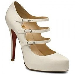 Christian Louboutin For Sale,CHeap Red Bottoms Sale,Red Bottoms,Red Bottoms Sale,Red Bottoms Dillian 120mm Mary Jane Pumps White | Red Bottom Shoes | Scoop.it