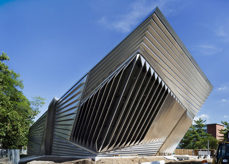 First photographs of Eli and Edythe Broad  Art Museum by Zaha Hadid unveiled | Inspired By Design | Scoop.it