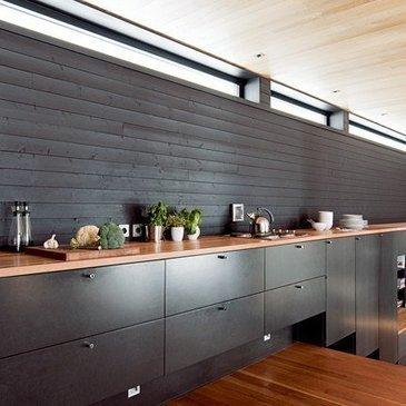 Décoration cuisine : des cuisines noires et blanches | Retrouvez des conseils pour apprendre et bidouiller | Scoop.it