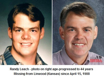 Randy Leach went missing from Linwood (Kansas) on April 15, 1988. He was 18-years-old | Missing Children | Scoop.it