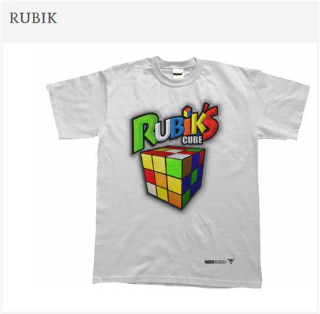 'RUBIK'- Tees by TotalMad   #Design   Scoop.it