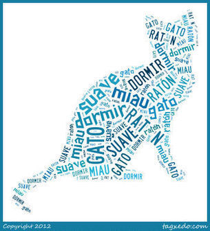 Use Spanish Vocabulary in Shapes with Word Clouds from Tagxedo | humor y teatro en ELE | Scoop.it