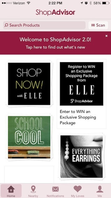 Elle's beacon-powered 30th anniversary innitiative drives 500,000 in-store visits - Mobile Commerce Daily - Applications   Mobile To Store   Scoop.it