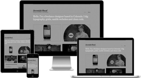 Type & Grids — Free Responsive HTML5 Template | HTML5 and JQuery | Scoop.it