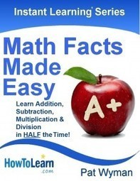 Free Math Facts Made Easy Book | HowToLearn.com | STEM and education | Scoop.it