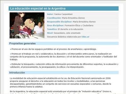La educación especial en la Argentina | educacion primaria | Scoop.it