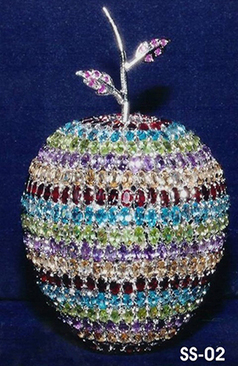 Sterling Silver Apple   Indian shaily crafts   Scoop.it