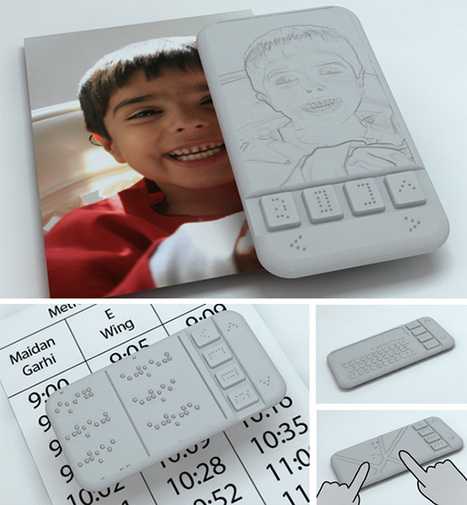 World's first Braille Smartphone for the blind   Future Web   Scoop.it