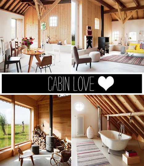 Happy Interior Blog: Interior Idea: Cabin Love | Interior Design & Decoration | Scoop.it