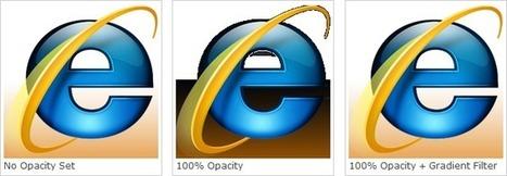 Solving IE7 & IE8 PNG Opacity Problems | CSS building blocks | Scoop.it