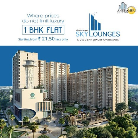 At Anukampa Sky Lounges, you can fulfill your dream of enjoying luxurious ambiance | Residential Projects | Scoop.it