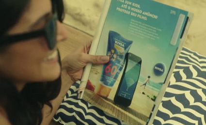 Nivea invente les objets connectés publicitaires | Connected-Objects.fr | TDM : Total Digital Management | Scoop.it