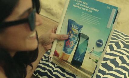 Nivea invente les objets connectés publicitaires | Connected-Objects.fr | CREATIVTY & INNOVATION | Scoop.it