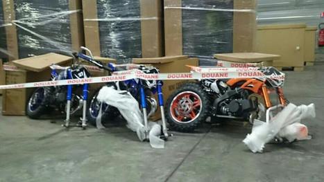 258 mini-motos chinoises saisies par les douanes, au Havre - Normandie-actu | Actu, moto & politique | Scoop.it