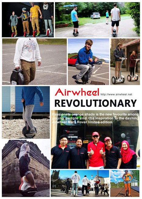Airwheel comes up with various designer electric unicycle and scooters, Business - weSRCH | Developing Innovation : Prototypes in Transport Systems | Scoop.it