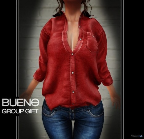 Breeze Shirt Red Group Gift by Bueno | Teleport Hub - Second Life Freebies | Second Life Freebies | Scoop.it