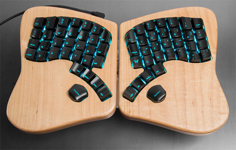 The Arduino- programmable Keyboardio joins At Heart | Raspberry Pi | Scoop.it