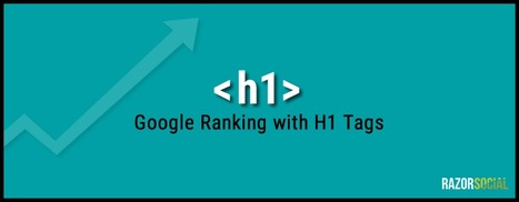 How to create the perfect H1 tag to help with Google ranking | SEO 101 for Marketers | Scoop.it
